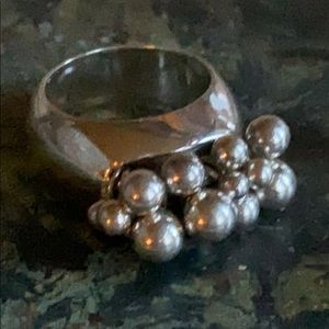 Silpada Cha Cha Solid Sterling Silver Ring